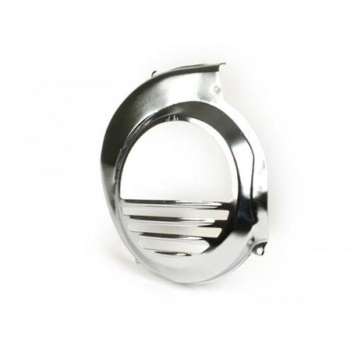 Tapa Ventilador Metálica, Vespa CON Arranque eléctrico -Cromada-