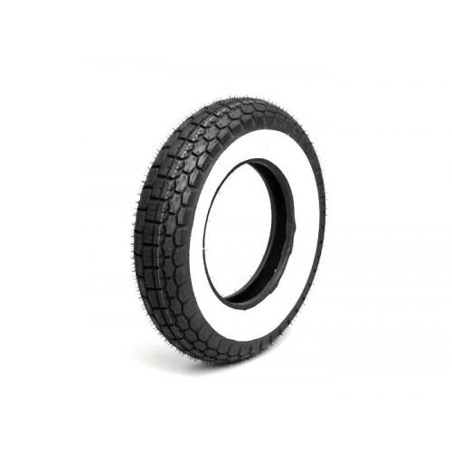Neumático Vespa MITAS- 3.50-8'' Banda Blanca