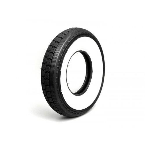 Neumático Vespa Continental, Banda blanca 8'' 3.50-8