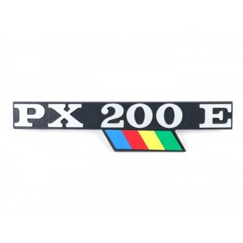 Letrero PX 200 E Vespa