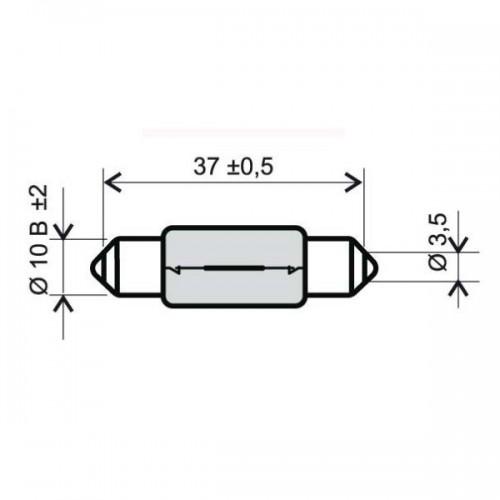 Bombilla Plafonier Vespa 6V 5W