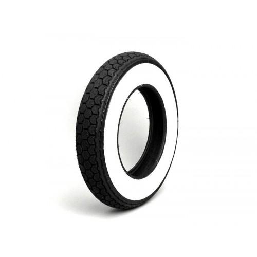 Neumático Vespa Continental 3.50-10 Banda Blanca