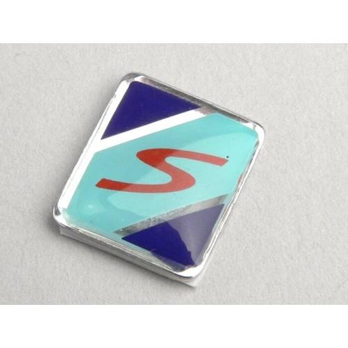 """Anagrama Logotipo """"S"""", cresta guardabarros Vespa"""
