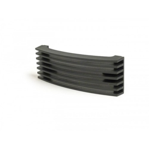 Rejilla Nariz Vespa PX 12mm Negra