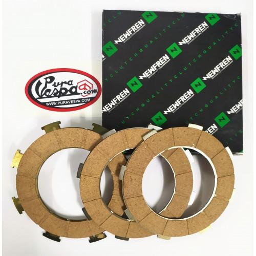 Discos Embrague Vespa 125, 150, 160 y 200 -Newfren-