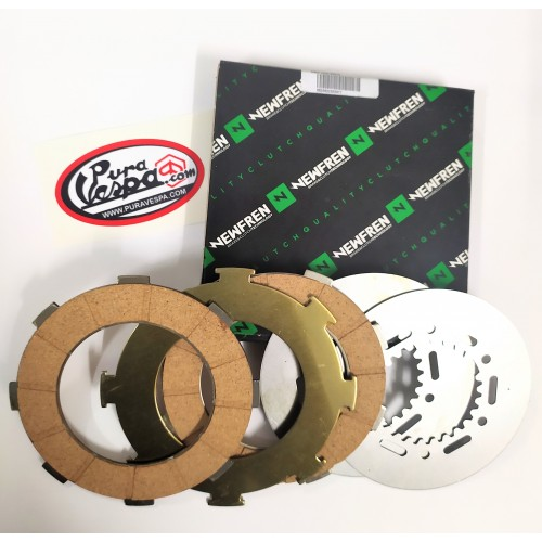 KIT Discos Embrague Vespa 200, 160, 150 -Newfren-