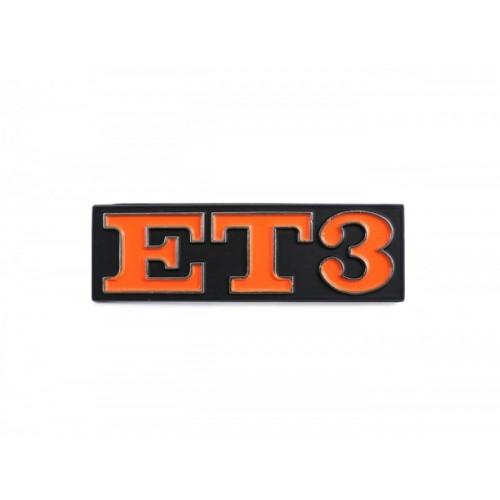 Letrero Vespa ET3