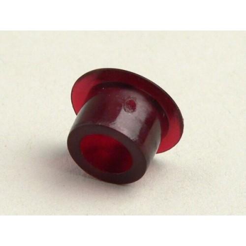 Testigo Manillar Vespa, Plástico Rojo 9,5mm