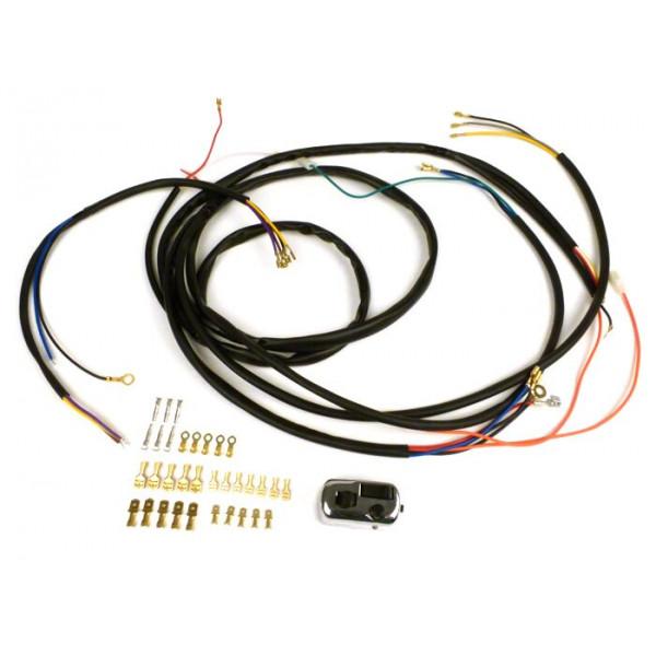 Instalación Eléctrica Vespa Conversión 6V a 12V